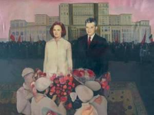 Ceaucesu with Masterpiece